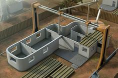 Concrete 3D Printer Can Build Homes In Less Than One Day