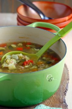 Cucinando e assaggiando...: Minestra di verdure con farro