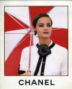 Nadege du Bospertus for Chanel