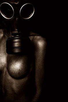 Photography - Gas Mask Body Suit