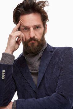 Extra-Fine Corduroy Blazer - pre-fall   Adolfo Dominguez shop online
