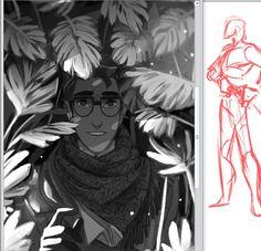 Art by PrinceCanary •  princecanary.tumblr.com | Professor Techum | Check