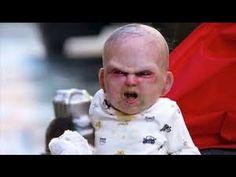 ▶ Funny Devil Baby Prank: Baby Attack in New York Scaring Strangers on the Street Devil's Due - YouTube