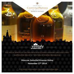 Distilleria Bocchino at #Vinitaly International in Moscow! #DistilleriaBocchino #Vinitaly