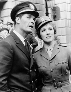 James Garner and Julie Andrews - one of what Garner always called his favorite film he did The Americanization of Emily (1964)