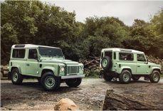 Land Rover Defender Celebration - Het einde van het Land Rover Defender tijdperk is gekomen - Manify.nl