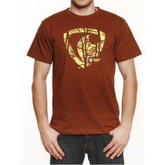 Represent Tričko Represent Dark Wood2 čokoládová R5M-TSS-0315