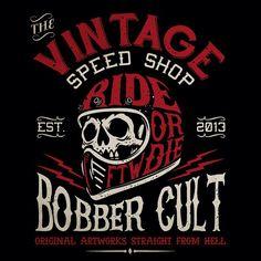 """243 curtidas, 11 comentários - Bobber Cult (@bobbercult) no Instagram: """"See you soon on Vintage Speed Shop, Barcelona. #bobbercult"""""""