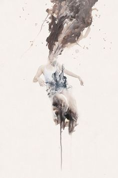 Januz Miralles  |   www.behance.net/nuestra  Mixing paint and photographs