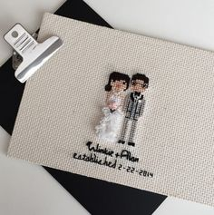 *NOT Guaranteed for Christmas delivery* Booking: JANUARY delivery!  Commemorate your wedding in tiny stitches! ~ To see more portrait examples please join me on Instagram.com/clothandtwig ~  The details: *Price starts at $75 which includes 2 people. *Also includes your names, wedding date, & one line of quote if you choose *Hoop size depends on the amount of elements in the portrait. ---> Once purchased, you will receive a link for a short form to include details and photos. <-...