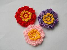 Ravelry: Myhobbyiscrochet's Simple Dainty Flowers