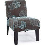 Sunflower Deco Accent Chair .Works with wide range of decor /Color:Blue