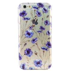 Clear Blue Fields iPhone 6 Case