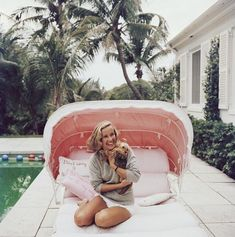 Slim Aarons Prints, Star Of The Day, Mode Vintage, Hollywood Celebrities, Color Photography, Palm Beach, Swimming Pools, Photographic Prints, Florida