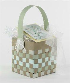 Cute Basket Weaving Tutorial is prefect for Easter