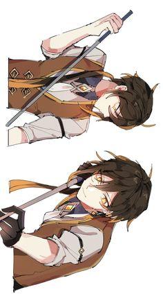 Cute Anime Character, Character Art, Wow 2, Alastor Hazbin Hotel, Game Character Design, Manga Games, Cute Art, Anime Guys, Anime Characters