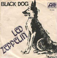 """Led Zeppelin - 7"""" Black Dog"""