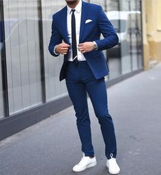"921 Likes, 31 Comments - Suituptime (@suituptime) on Instagram: ""Blue 👏 tag someone that would look good in this look 👇photo by @aleksmusika #Suituptime"""