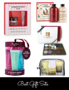 I have some very sparkly girls on my holiday list who would love these! From @Nicole Feliciano Favorite #makeup gift sets for the holiday.