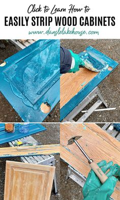 Remove Varnish From Wood, Removing Paint From Wood, Remove Paint, Diy Furniture Projects, Cool Diy Projects, Wood Furniture, Paint Removal, Varnish Remover, Stripping Paint From Wood