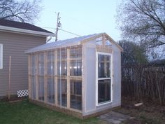 Easy greenhouse construction