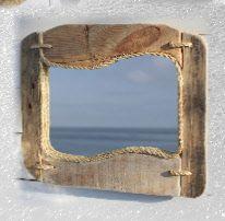 Teak Driftwood Floor Mirror | Floor mirror and Teak