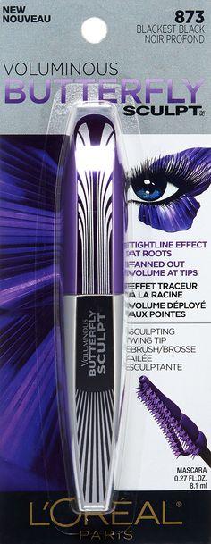 c16560c47af L'Oreal Paris Cosmetics Voluminous Butterfly Sculpt Waterproof Mascara