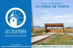 A new centre for finding out about the wetlands of Almardà / Alemara.  Aquí os dejamos las próximas convocatorias para descubrir la Finca de Penya de #Sagunto, la reserva de fauna silvestre de la Marjal d'Almardà-Almenara. http://www.accioecologista-agro.org/spip.php?rubrique69