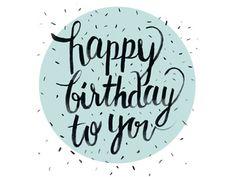 happy birthday by Ella Pena - Dribbble