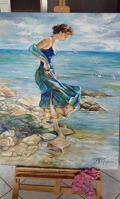 Pintura à óleo  Ana Paula Campos Teixeira