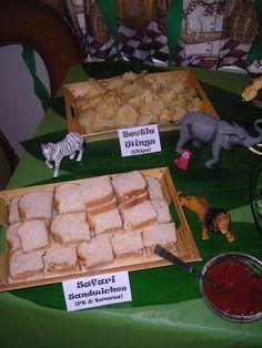 "Photo 1 of 19: Jungle Safari / Birthday ""Safari Party - 6th Bday"" | Catch My Party"