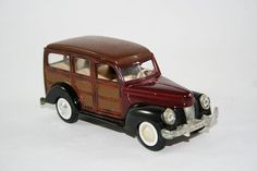1947 Woody Toy Car Surf Sand and Surfboards too by flattirevintage, $20.00