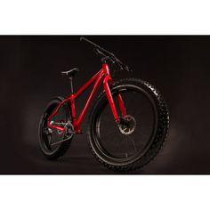 Salsa Mukluk 3 Fat Bike Gloss Red 2014