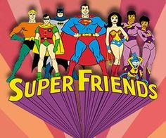 Superfriends cartoon (w those lame Wonder Twins and their stupid monkey) Best 80s Cartoons, Old School Cartoons, Classic Cartoons, Retro Cartoons, Old Tv Shows, Kids Shows, Gi Joe, Desenhos Hanna Barbera, Dc Comics