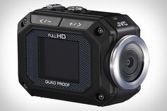 Sporting a five-megapixel CMOS sensor, the JVC ADIXXION Camcorder can capture full HD video at 30p, 720 video at 60p, and features a super-wide lens, a 1.5-inch LCD for playback, the ability to grab full-resolution stills, an SDXC card slot, a time-lapse mode, a mini-HDMI output, included goggle and flexible mounts, and a robust design that's shockproof, dustproof, freeze proof, and waterproof down to 15 feet.