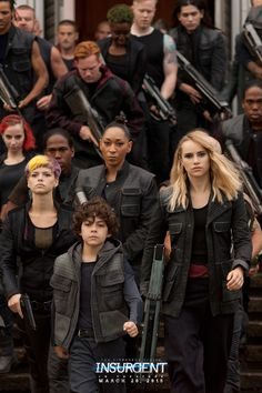Unity leads to victory. | Insurgent...hector is so adorable can't wait til the movie!!!