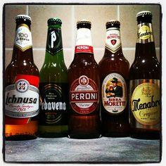 solo in casa con cinque bionde italiane - @palladipelo1975 #pedavena #birra #beer