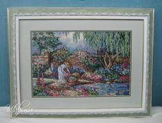 ПРОЦЕСС: Dimensions 03780 An Enchanted Garden ЗАВЕРШЕН | 26 фотографий