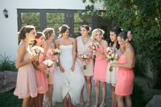 Pink Coral Wedding Decorations | Our wedding was definitely more of a casual beach/summer wedding.