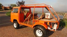 Customized beach cruiser. 1973 VW Bus that has been converted to the ultimate beach cruiser and is licensed for the street as well. It has a Type 4 2,700cc V...