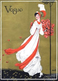 Vogue cover - August 1-1911