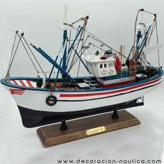 Wooden Model Boats, Wooden Boats, Shrimp Boat, Boat Names, Kraken, Paper Models, Model Ships, Radio Control, Elmo