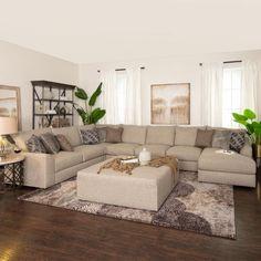 Casa da Anitta: see the singer's mansion in Barra da Tijuca - Home Fashion Trend Cozy Living Rooms, Home Living Room, Living Room Designs, Living Room Furniture, Home Furniture, Living Room Decor, Antique Furniture, Rustic Furniture, Living Room With Sectional