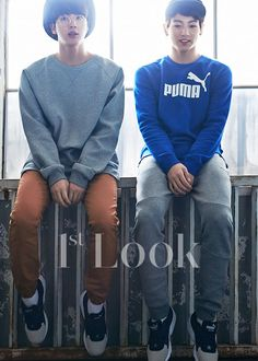 BTS - PUMA Pictorial for 1st Look
