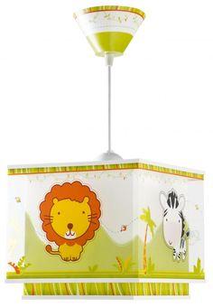 Little Zoo Φωτιστικό Οροφής Διπλό Τοίχωμα Decoration, Giraffe, Elephant, Pikachu, Baby, Disney, Character, Germany, Amazon