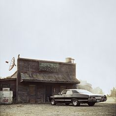 Baby at the Roadhouse... I miss the Roadhouse.  And Ellen.  And Jo.  And Ash.  #Supernatural