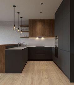 35 healthy stylish kitchen decor ideas 6 - Home Style Living Room Green, Living Room Modern, Living Room Designs, Living Room Decor, Living Rooms, Bedroom Decor, Stylish Kitchen, New Kitchen, Kitchen Decor