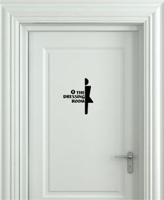 Pirate And Mermaid Toilet Sign Bathroom Door Sticker Decal