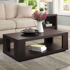 Better Homes And Garden Steele Coffee Table Espresso Brown Finish