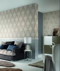 """Die Kollektion """"Modena"""" von Erismann lässt ein zeitlos schickes Ambiente entstehen! Tapeten / Wallpaper"""
